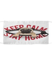 Pug-Mask-Stay Home Cloth face mask front