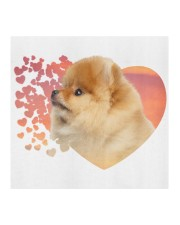 Pomeranian-My Life-Mask Cloth face mask aos-face-mask-coverlet-lifestyle-front-02