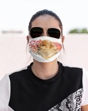 Pomeranian-My Life-Mask Cloth face mask aos-face-mask-lifestyle-02