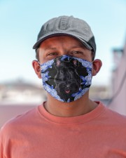 Scottish Terrier-Blue Mask Cloth face mask aos-face-mask-lifestyle-06