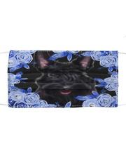 Scottish Terrier-Blue Mask Cloth face mask front