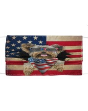 Yorkshire Terrier-US Mask Cloth face mask front