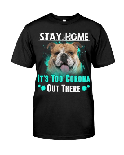 English Bulldog-Stay Home