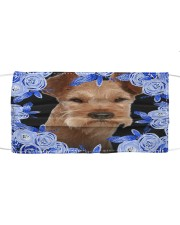 Irish Terrier-Blue Mask Cloth face mask front