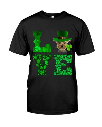 Yorkshire Terrier-Love-Shamrock