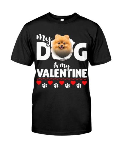 Pomeranian-My Valentine