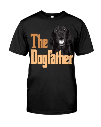 Flat Coated Retriever-The Dogfather
