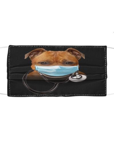 Staffordshire Bull Terrier-Face Mask-Doctor