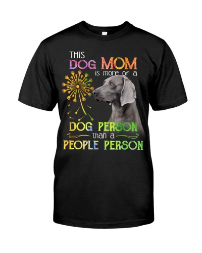 Weimaraner-Dog Person