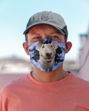 Bull Terrier-Blue Mask Cloth face mask aos-face-mask-lifestyle-06