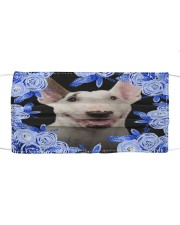 Bull Terrier-Blue Mask Cloth face mask front