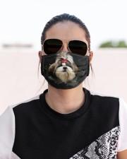 Shih Tzu-Hole Crack Cloth face mask aos-face-mask-lifestyle-02
