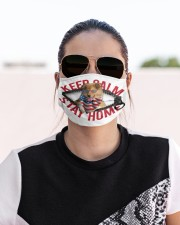 Rough Collie-US-Keep Calm Cloth face mask aos-face-mask-lifestyle-02