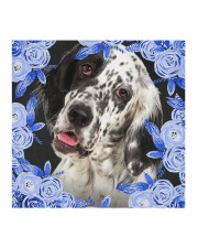 English Setter-Blue Mask Cloth face mask aos-face-mask-coverlet-lifestyle-front-02