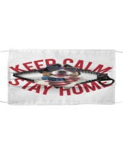 Australian Shepherd-US-Keep Calm Cloth face mask front