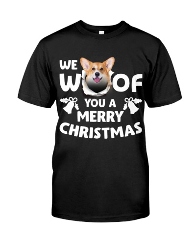 Welsh Corgi-Merry Xmas