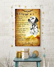 Dalmatian - True 24x36 Poster lifestyle-holiday-poster-3