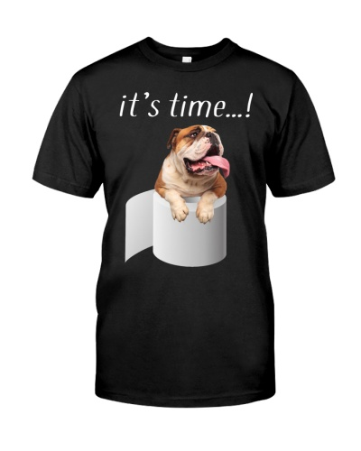 English Bulldog-It's Time