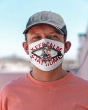 Shetland Sheepdog-US-Keep Calm Cloth face mask aos-face-mask-lifestyle-06