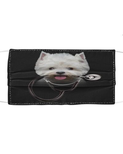 West Highland White Terrier-Face Mask-Stethos