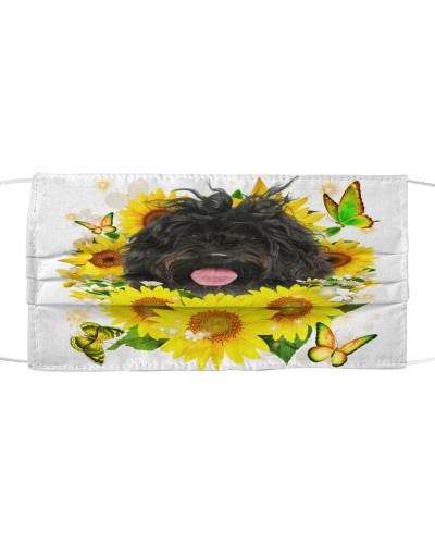Portuguese Water-Face Mask-Sunflower