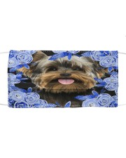 Yorkshire Terrier-Blue Mask Cloth face mask front