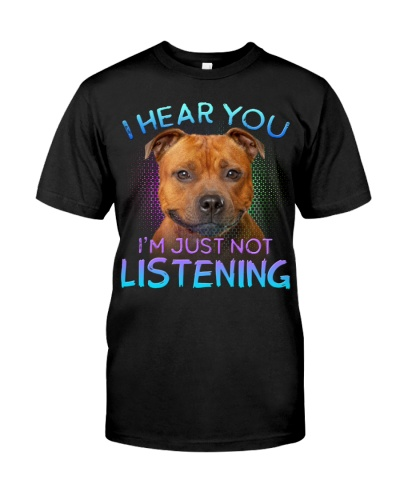 Staffordshire Bull Terrier-I Hear You