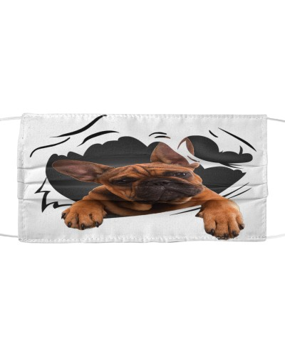 French Bulldog-Face Mask-Torn07