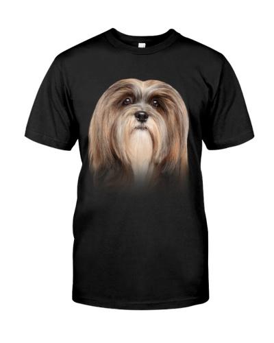 Lhasa Apso-Dog Face