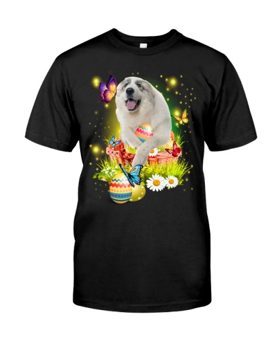 Great Pyrenees-Easter