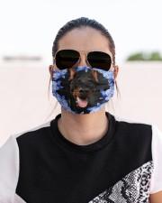 Doberman-Blue Mask Cloth face mask aos-face-mask-lifestyle-02