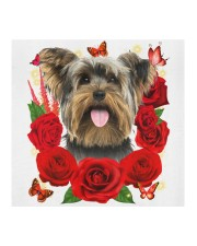 Yorkshire Terrier-Face Mask-Rose Cloth face mask aos-face-mask-coverlet-lifestyle-front-02
