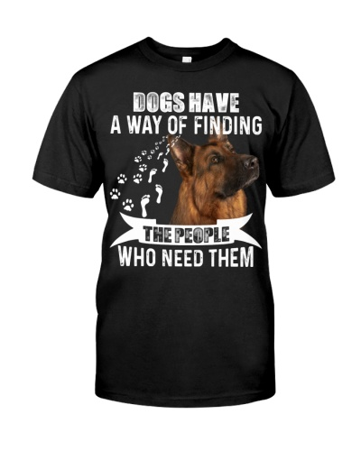 German Shepherd-02-A Way Of Finding