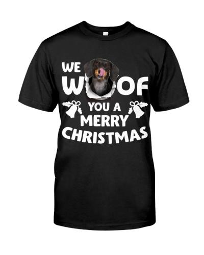 Dachshund-Merry Xmas