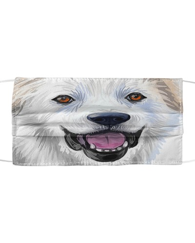 Great Pyrenees-Art-Face Mask