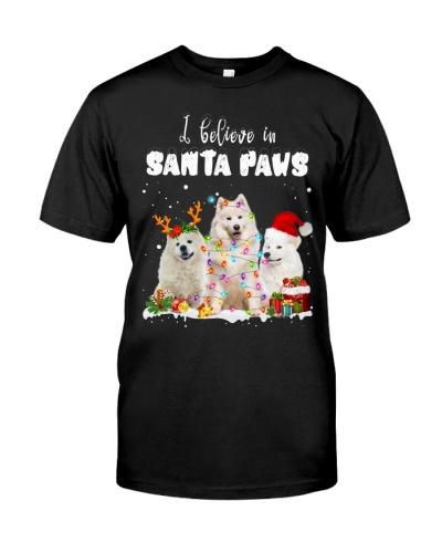 Samoyed-Santa Paws