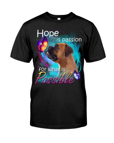 Boxer-Hope Is Passion