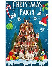 Basset Hound - Party Vertical Poster tile