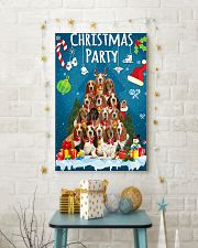 Basset Hound - Party 24x36 Poster lifestyle-holiday-poster-3
