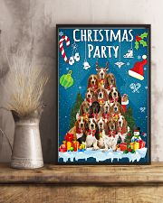 Basset Hound - Party 24x36 Poster lifestyle-poster-3