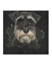 Miniature Schnauzer-Hole Crack Cloth face mask aos-face-mask-coverlet-lifestyle-front-02
