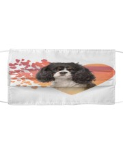 Cavalier King Charles Spaniel-My Life-Mask Cloth face mask front