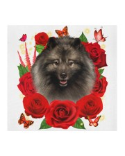 Keeshond-Face Mask-Rose Cloth face mask aos-face-mask-coverlet-lifestyle-front-02