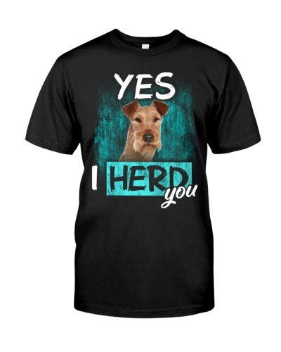 Irish Terrier-I Herd You