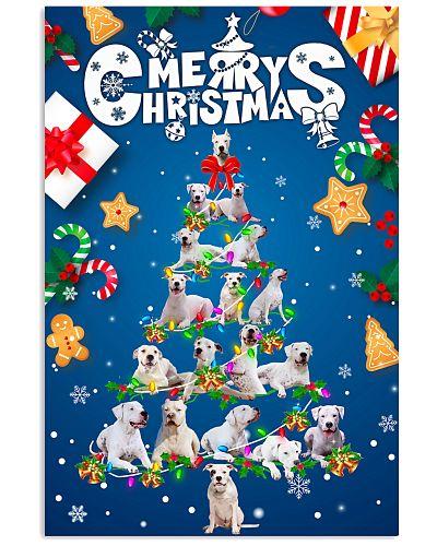 Dogo Argentino-Merry Christmas
