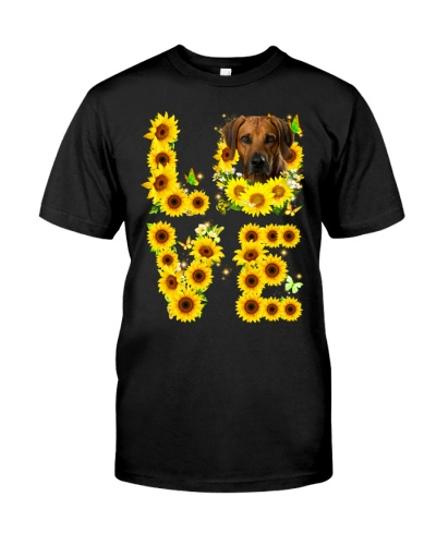 Rhodesian Ridgeback-Love Sunflower