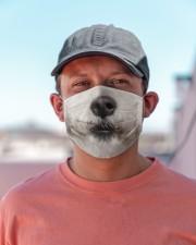 Bichon Frise-Mask Mouth Cloth face mask aos-face-mask-lifestyle-06