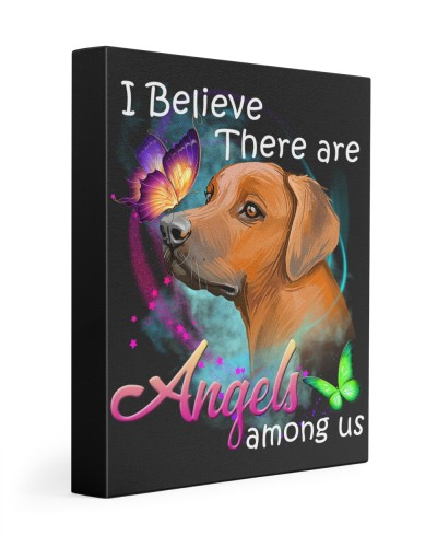 Rhodesian Ridgeback-Art-Canvas Angels