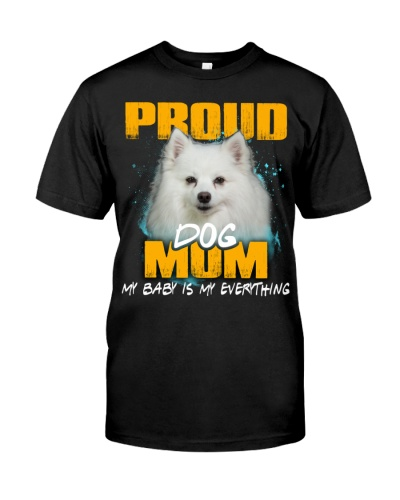 American Eskimo-Proud Dog Mom