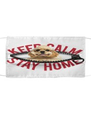 American Cocker Spaniel-Mask-Stay Home Cloth face mask front